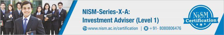 NISM Series XA Investment Adviser Level 1 Mock Test Free